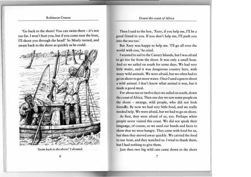 Скачать книгу робинзон крузо английском языке