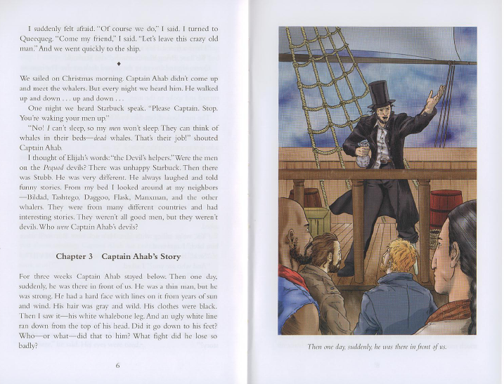 ahab s leg and moby dick Moby dick questions including what is the ocean a moby-dick destroyed ahab's he is obsessed with killing moby dick because he lost his leg and got a.